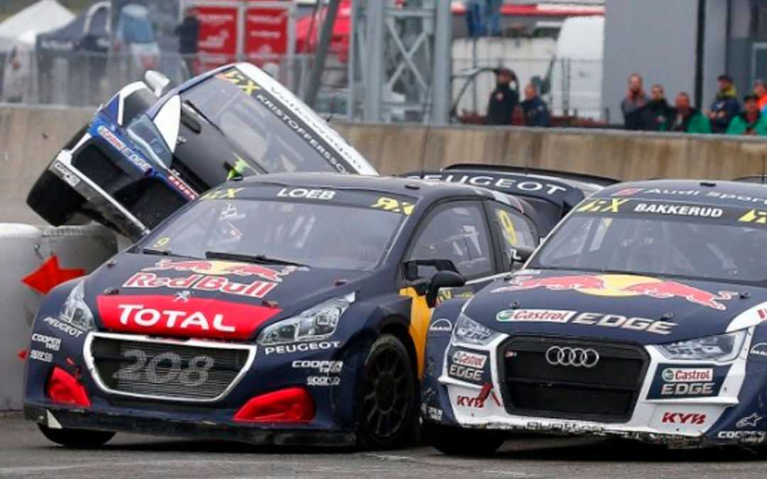 Sebastien Loeb is reunited with the victory in the World RX of Belgium