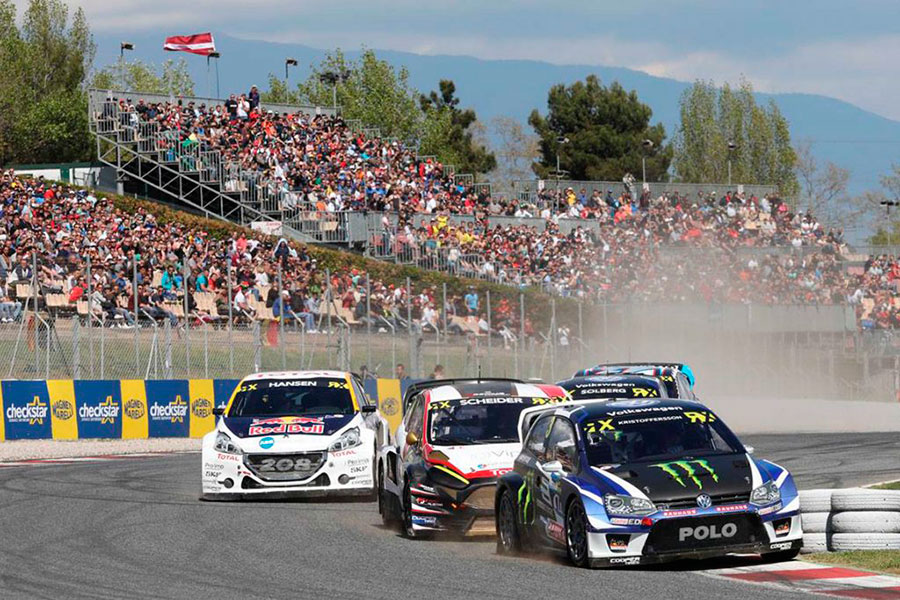 world rx 2018 empieza en el circuit de barcelona barcelona. Black Bedroom Furniture Sets. Home Design Ideas