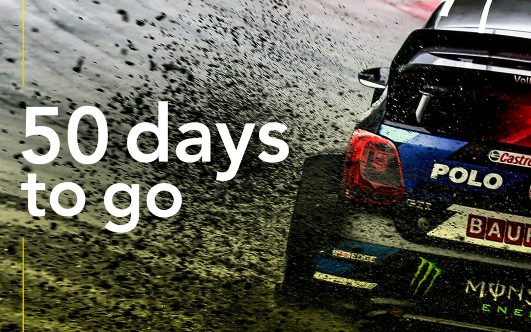 50 DAYS LEFT FOR THE KICK OFF OF THE WORLDRX OF CATALONIA