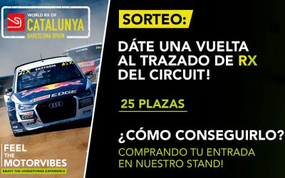 YOU COULD GO AROUND THE CIRCUIT OF CATALUNYA, ARE YOU GOING TO MISS IT?