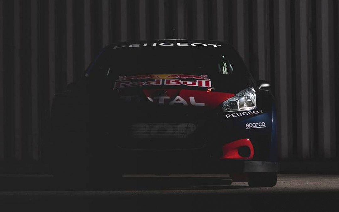 THE NEW PEUGEOT 208 WRX READY FOR THE WORLDRX OF CATALUNYA