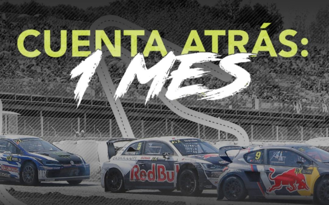 1 MONTH TO GO FOR THE CATALUNYARX