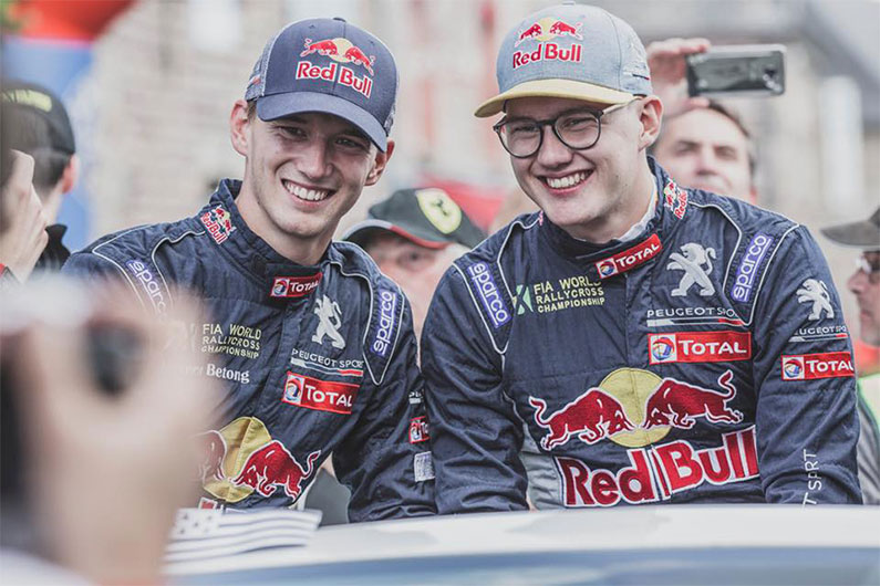HANSEN BROTHERS AND BAKKERUD READY FOR THE CATALUNYARX