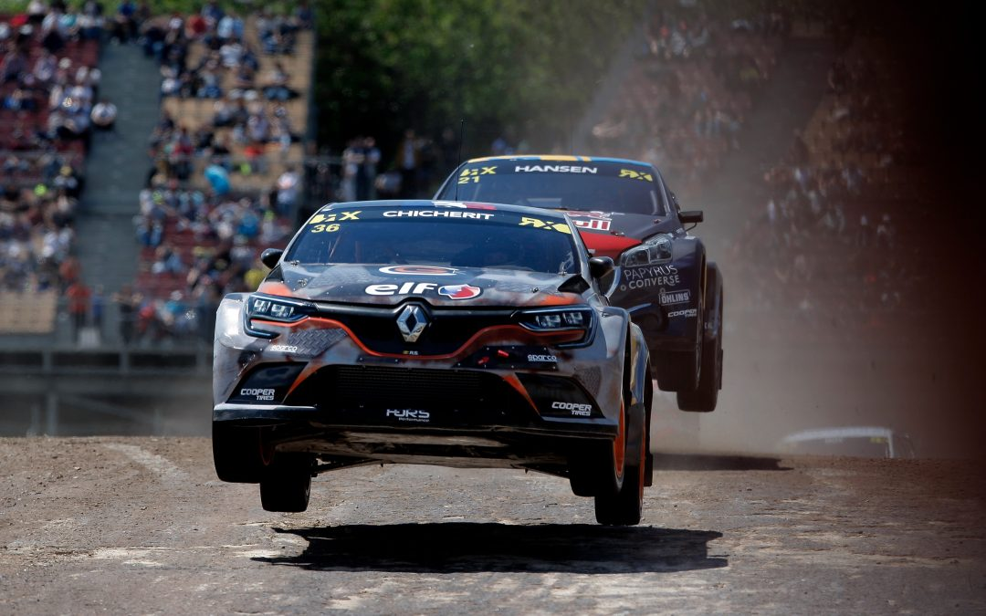 TIMMY HANSEN LEADS AN EPIC FIRST DAY AT CATALUNYARX