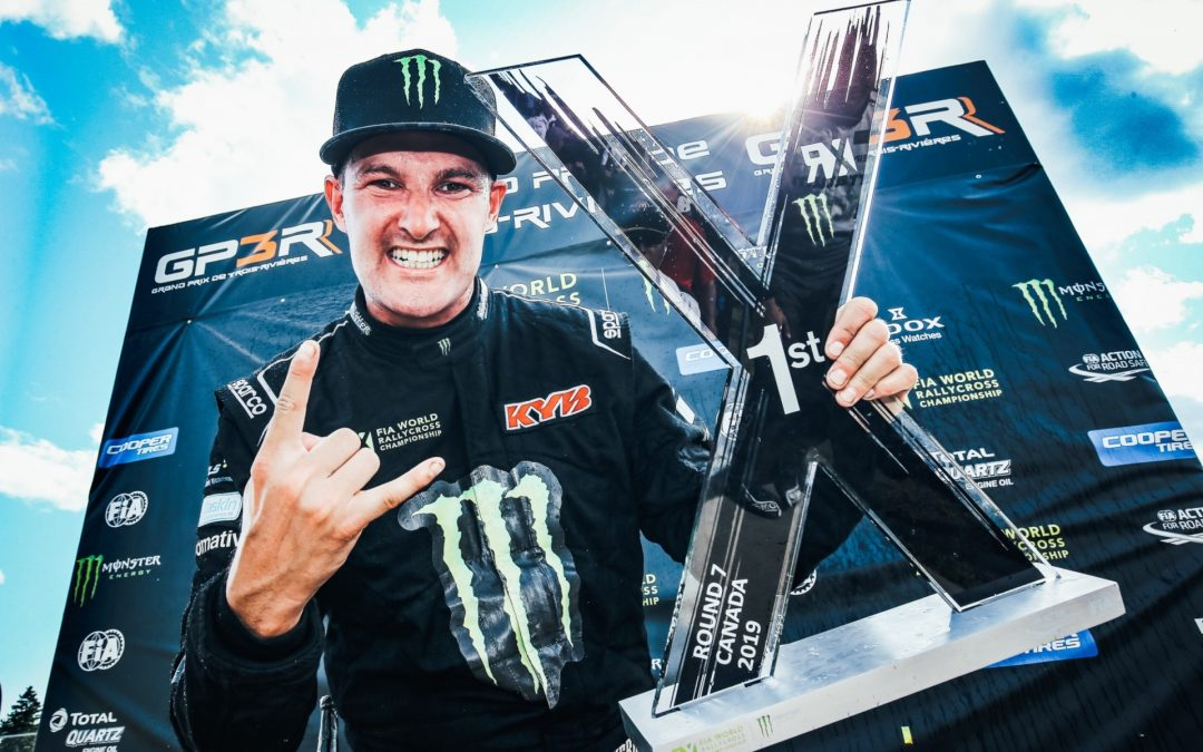 BAKKERUD WINS IN CANADA AND JOINS THE BATTLE FOR THE TITLE