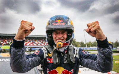 TIMMY HANSEN TAKES THE LEAD WITH 1PT DISTANCE BEFORE THE LAST RACE