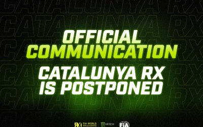 CatalunyaRX is postponed