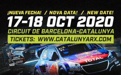 The Catalunya RX 2020 will be held on October 17th and 18th