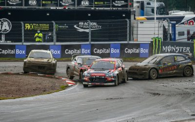 Kristoffersson and Gronholm dominate in the return of the FIA ​​World Rallycross Championship to Finland