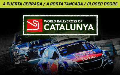 The World RX of Catalunya-Barcelona will be held behind closed doors