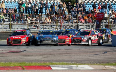 Kristoffersson and Ekstrom shine at the Neste World RX of Riga-Latvia