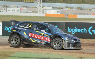 Johan Kristoffersson wins the Logitech G World RX of Catalunya