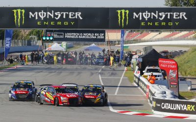 Timmy Hansen wins the Logitech G World RX in Pirineus-Barcelona 2030