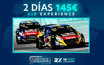 Now on sale the VIP Experience tickets for CatalunyaRX