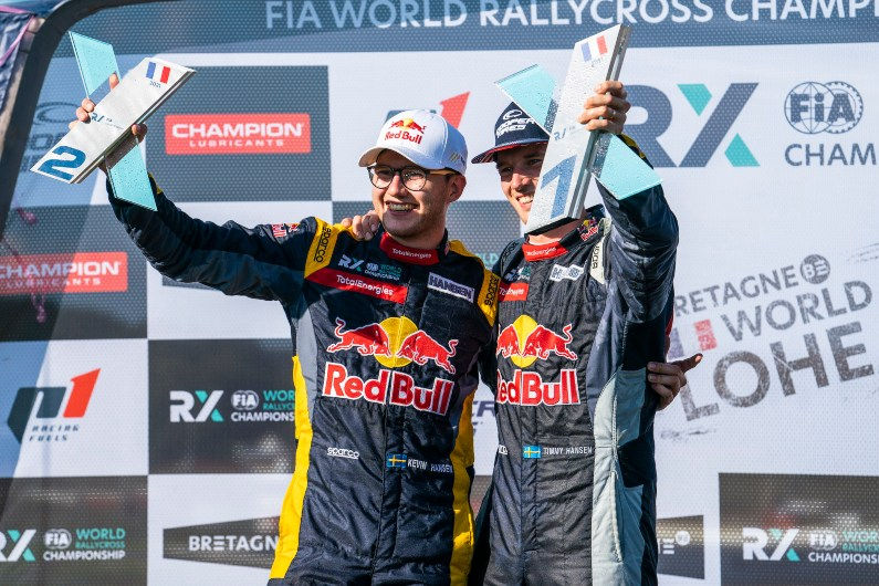 Hansen brothers continue to dominate the FIA World RX